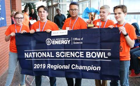 Ames Lab MS science bowl