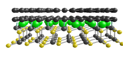 intercalated atoms at graphene-SIC interface