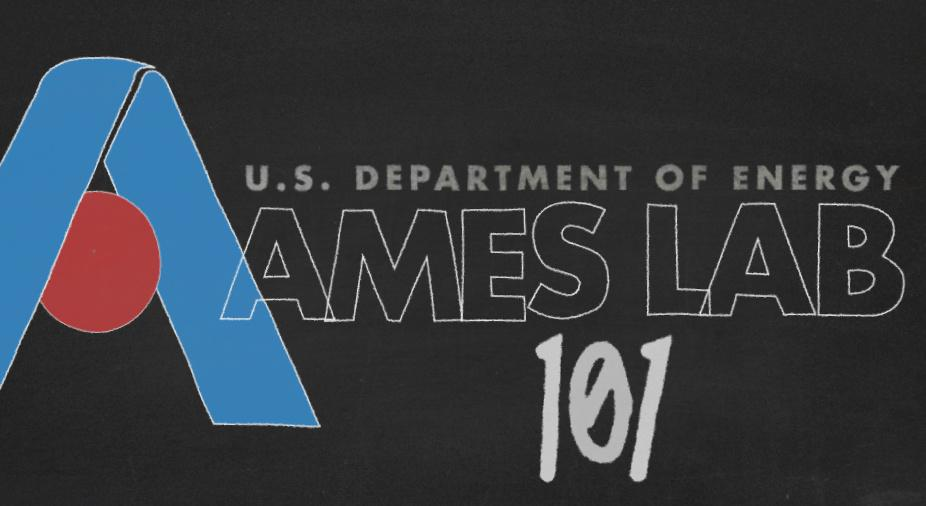 Ames Lab 101 title card