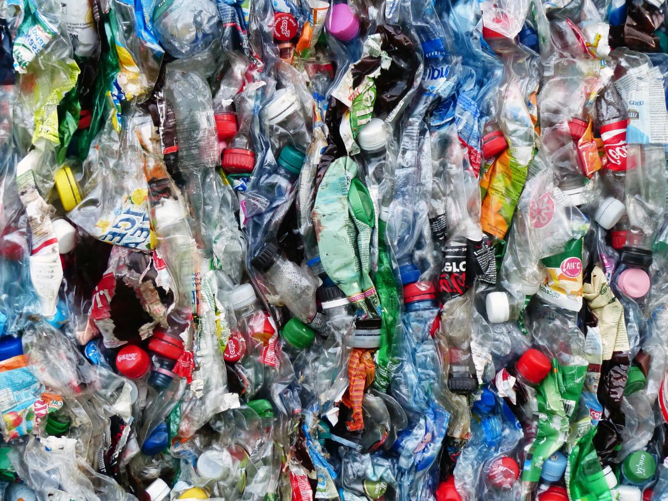 stock image, plastic waste