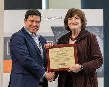 Orlando Rios receives distinguished inventor award